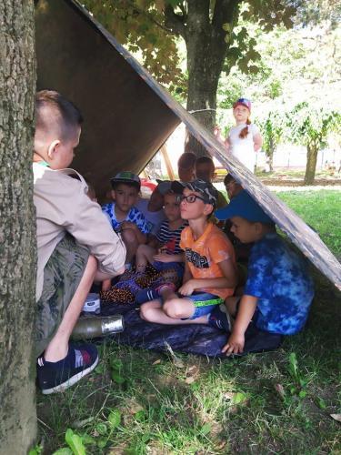 Denný tábor v Safari