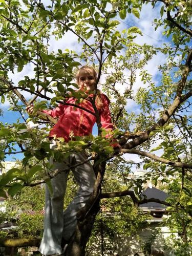 020 Eliška - lezenie na strom (Pohybov)